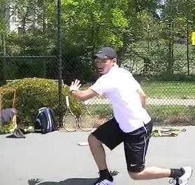 渐进式的网球步法及挥拍训练视频