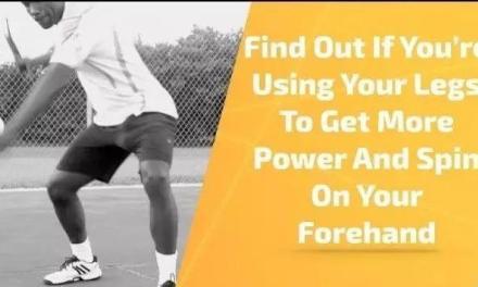 你用上腿部力量增加正手击球的力量和旋转了吗?