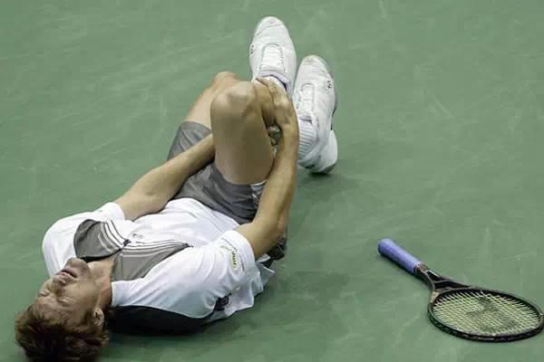网球中的各种意外受伤及预防