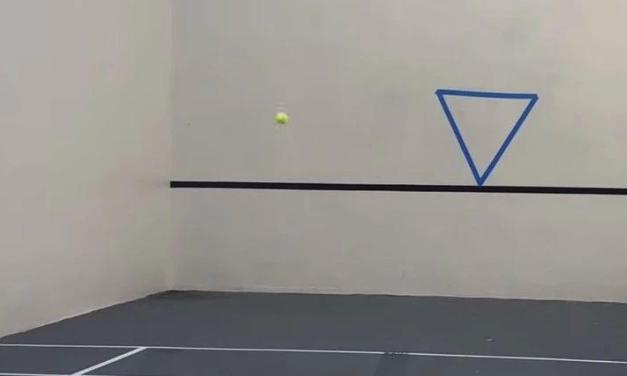 如何高效提高击球的连贯性和控制性,打墙一定要带胶布!