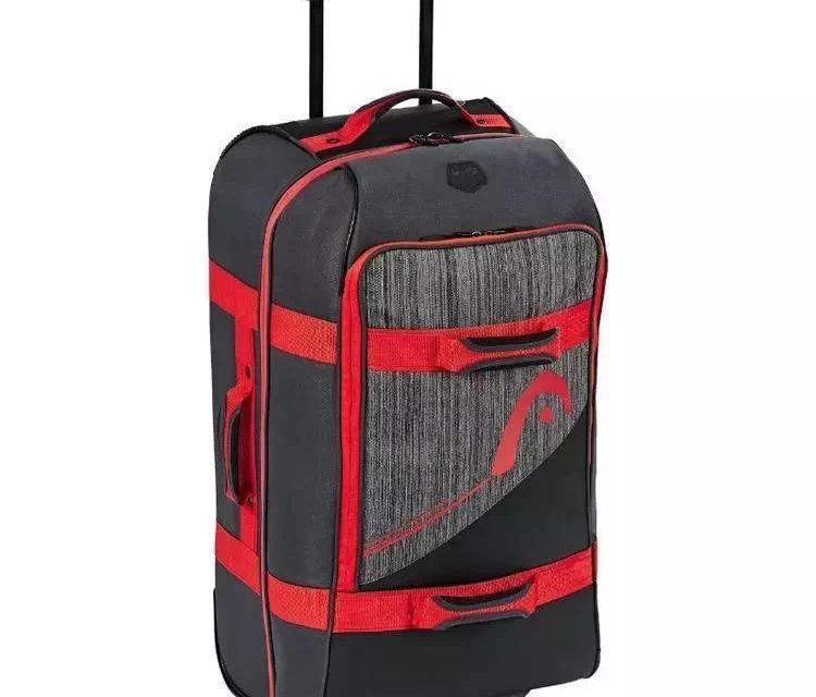 Head超大滚轮行李包,让你的旅行也充满网球气息!