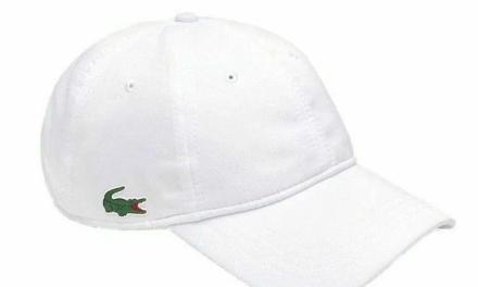 德约代言法国Lacoste网球帽,限时5折购!