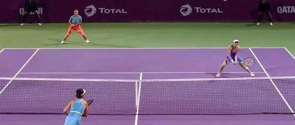 网球双打如何预判?做到抢网不失误,不被穿越?