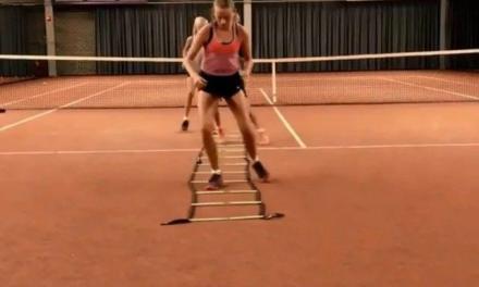 网球绳梯步伐训练,每天来几组!