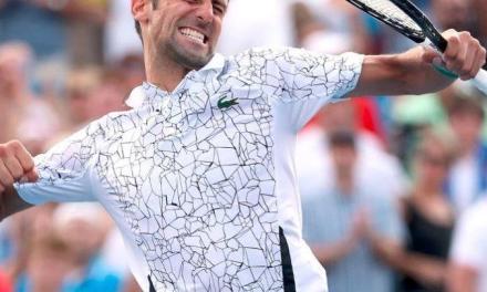 德约2018美网夺冠的秘密,球拍加长加磅!