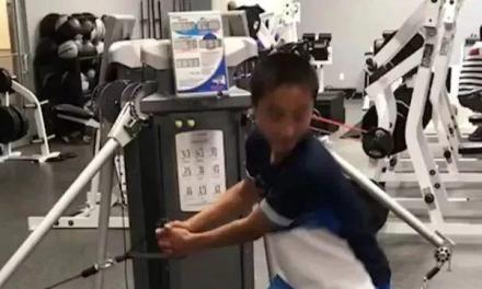 【视频】绳索提拉蹬地训练