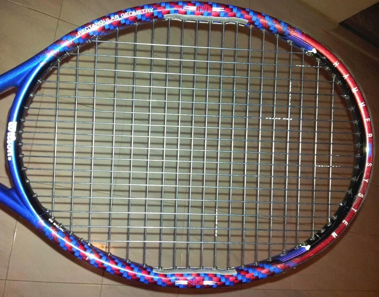 网球联合会比赛禁止的面条拉线法,试打报告出炉!