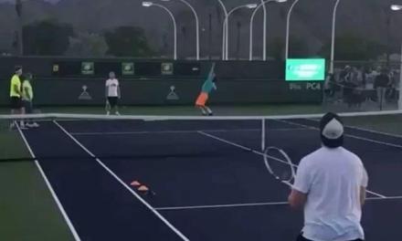 【视频】蒂姆上旋发球训练