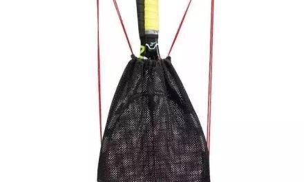 """爱吐槽吗?来试用""""多用途网球背袋""""吧。"""