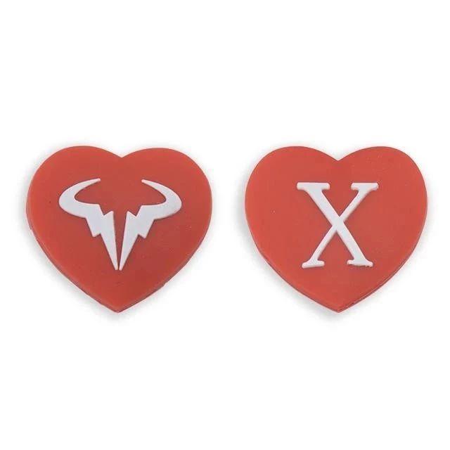 高品质硅胶避震5元/个,费德勒RF、纳达尔牛X、中国心、红包任你选!