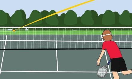小时候玩过的打水漂,原来是练习网球侧旋发球的最好方法!