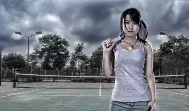 网球如人生!