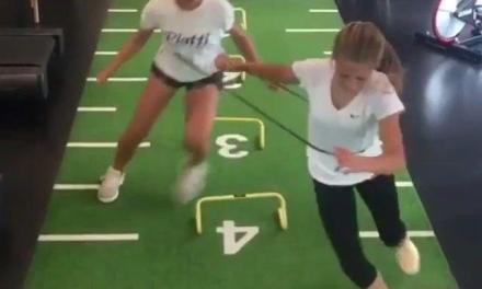 脚步协调练习,可不能被别人打乱节奏!