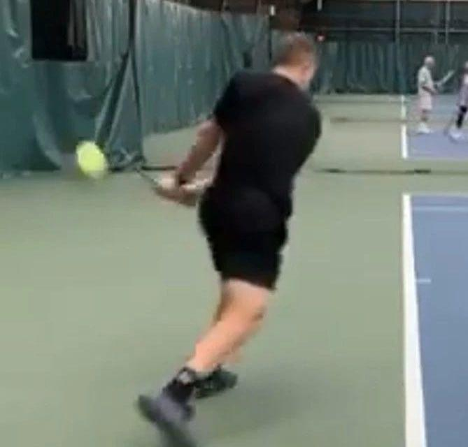 网球接发步伐学起来,再也不怕对方的发球局!
