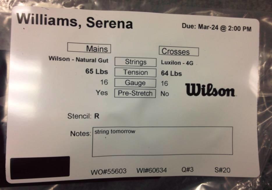 女皇小威球拍史,原来Wilson才是一生挚爱!