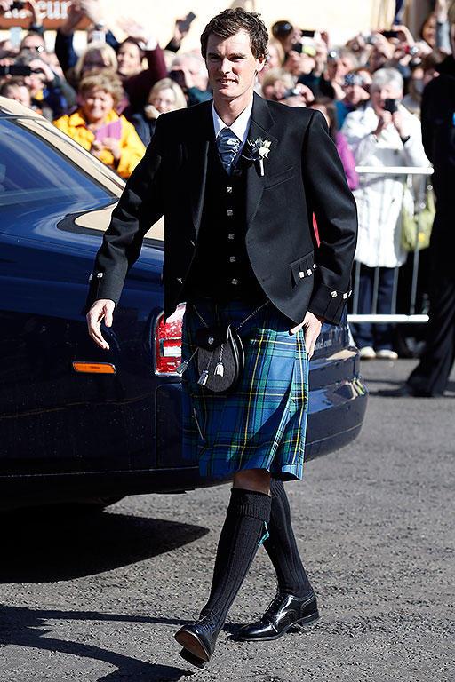 【图片新闻】穆雷周六在英国完婚