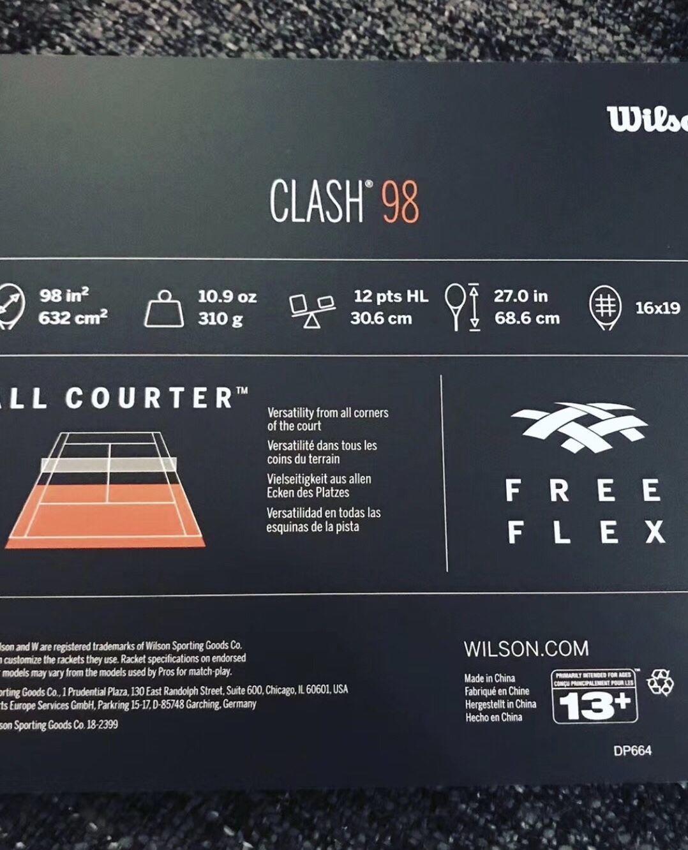 Wilson Clash 98居然才是Clash系列的王牌?