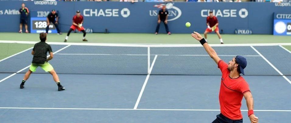 """网球单双打回位位置详解,所谓""""中间""""居然不是球场中间?"""