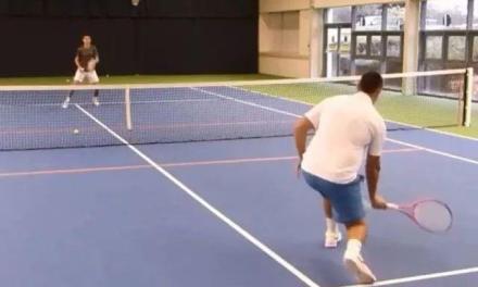网球半截击最好的练习方法!