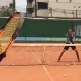 网前截击视频,这样练网球技术才算高效