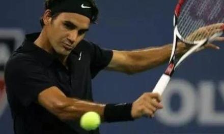 费德勒反手网球切削三要素,左手你得用起来!