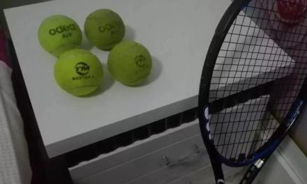 【测评】武乡县网球俱乐部,Odear Air 与泰摩 Master 1。