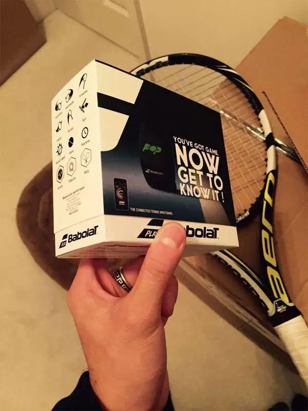 Babolat Pop网球护腕感应器体验报告