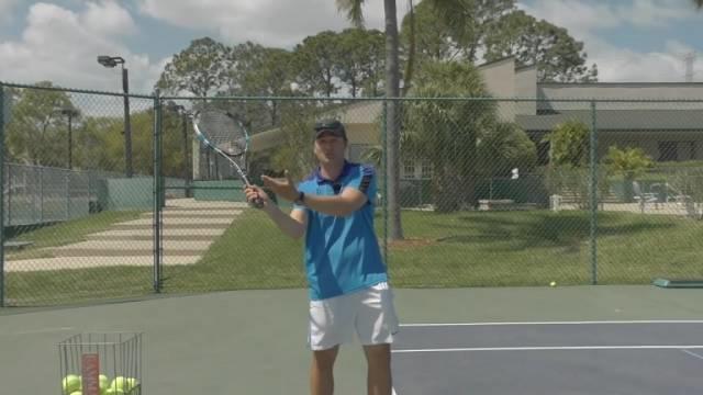 网球发球手部动作详解,一步一步教你发球!