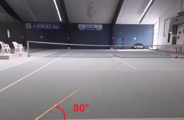 """像德约一样""""两步法""""调整你的击球位置,用身体的重量打出又快又重的双反!"""