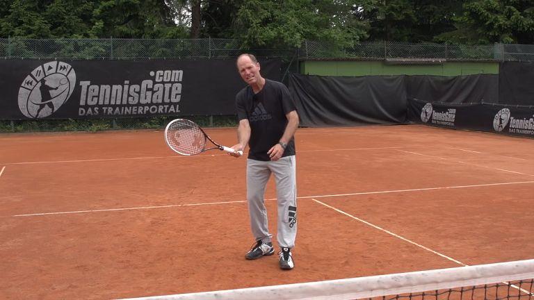 一个简单练习,掌握网球卸力截击放小球技巧,solo全场!
