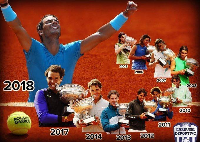 纳达尔的高考作文:《我将拥有28个法网冠军》
