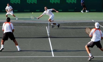 三角移动!网球双打网前偷袭的黄金法则!