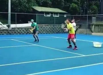 双打网前训练