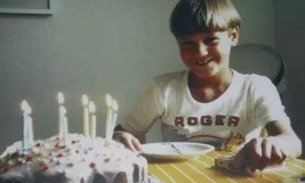 8月8日,费德勒的一个小小生日愿望。