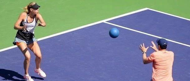 超全面转体、平衡、步伐综合练习,网球教练千万不能错过哦!