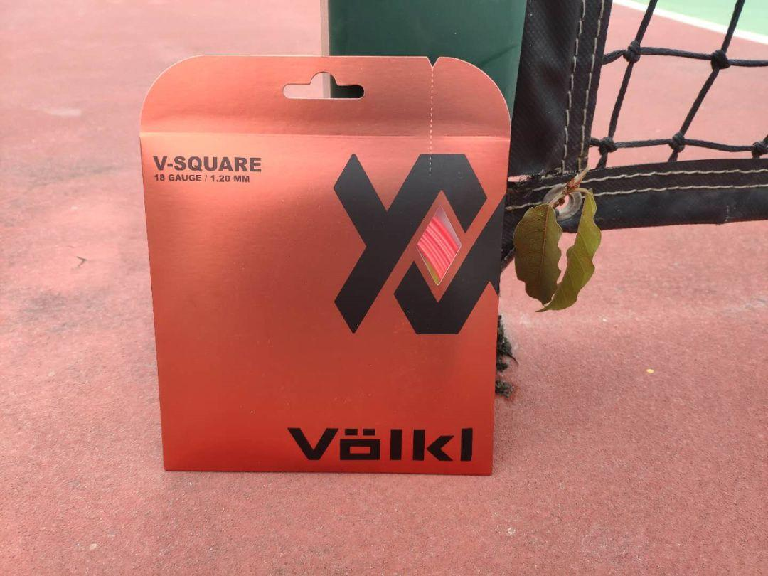 全球首发,Volkl V-Square四角聚酯线,力量和旋转简直太完美了!