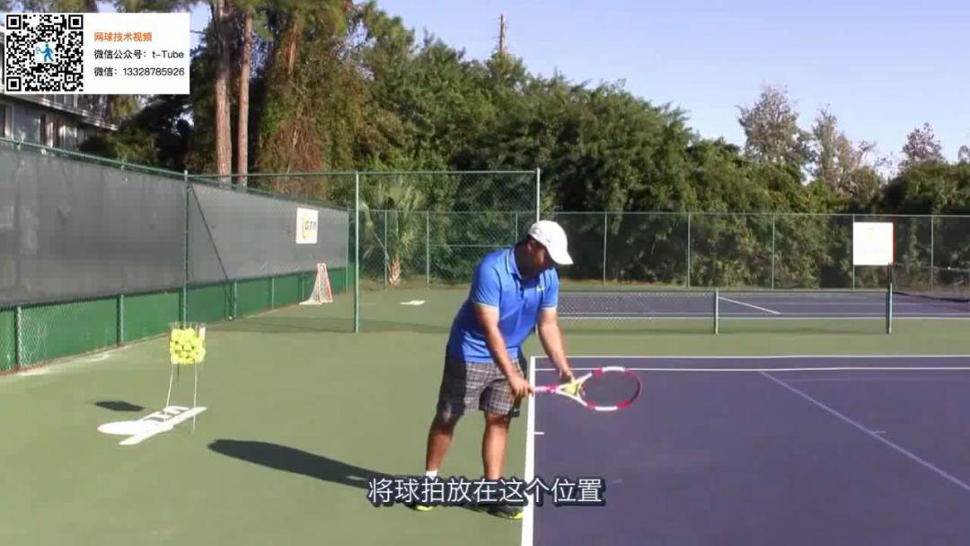 网球发球挥拍的正确节奏,快慢结合才能释放拍头速度!