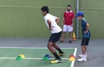 网球稳定及爆发力训练