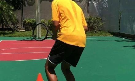 网球热身步伐训练