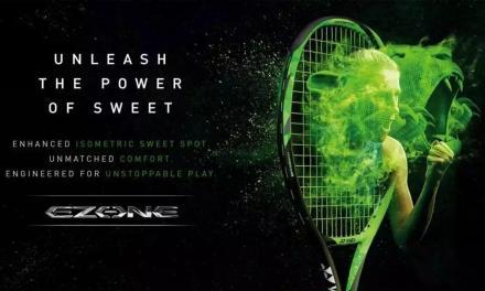 美网首发的第三支球拍,Yonex EZone绿出于蓝而胜于蓝。