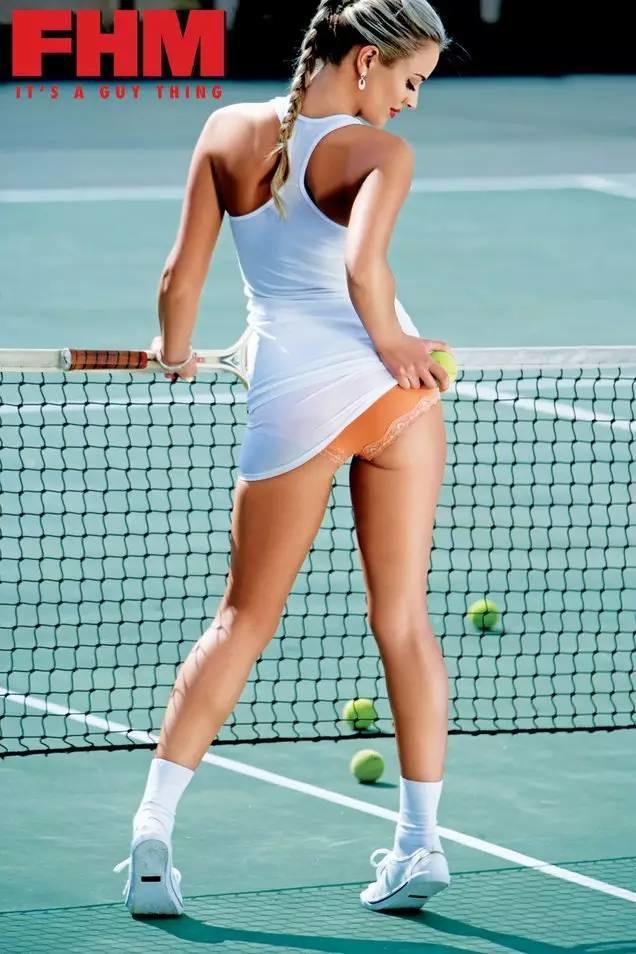 不用发红包也能看到的私藏性感无码网球美女照,看到就是赚到!