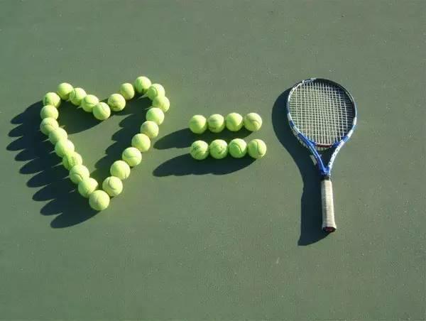 任世间变幻莫测,只有网球是真LOVE!