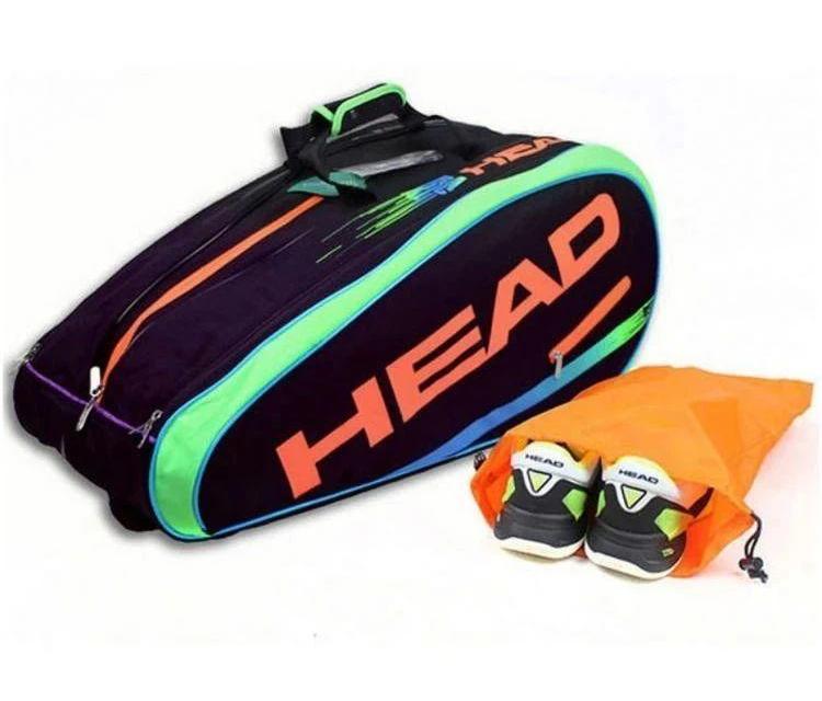 清仓大特价!穆雷签名限量款9支装网球包,228元!
