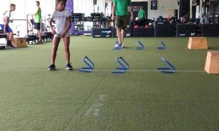 青少年网球敏捷性训练