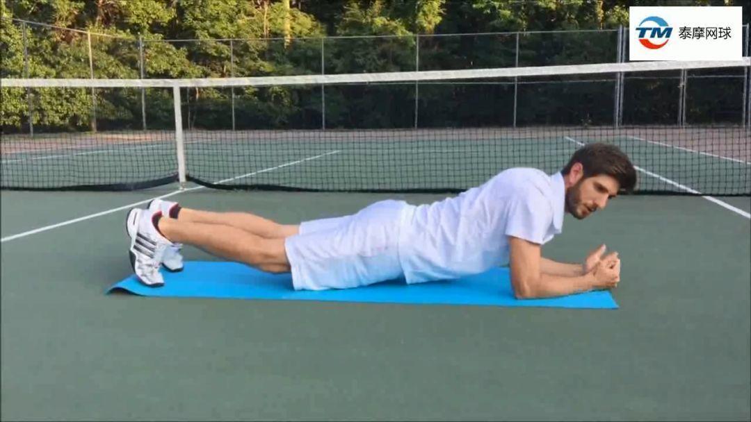 网球职业选手最常用的五个核心力量练习方法,稳固的核心是击球的基础!