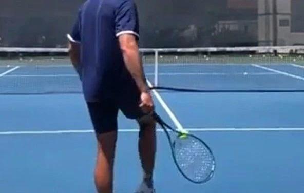 不会踢足球的网球运动员不是好的网球运动员!