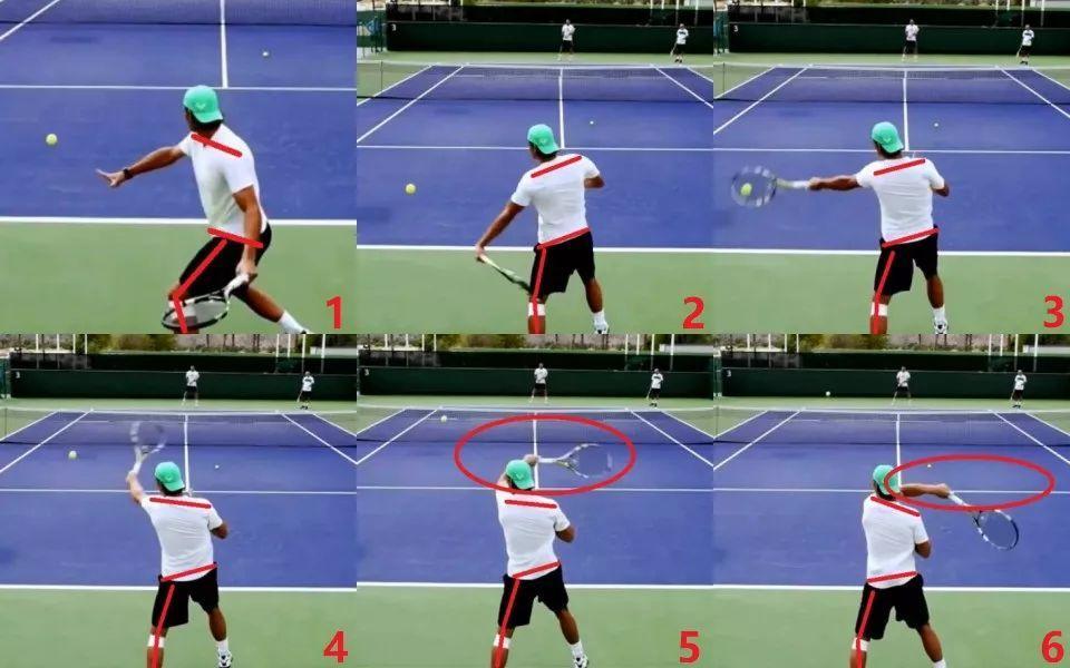 挥拍击球上:详解击球力量来源,三种动力传输方式第一种最省力!