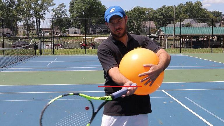 一个提高正手击球力量的简单小练习!