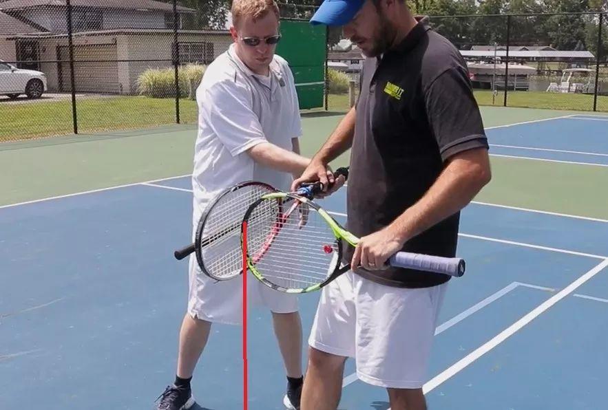 错误的正手动作定型了怎么办?自制网球正手修正神器