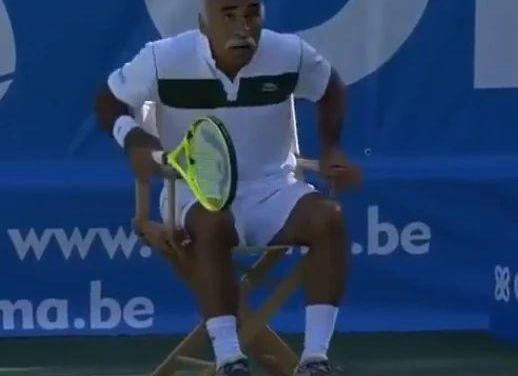 老了以后你还会打网球吗?